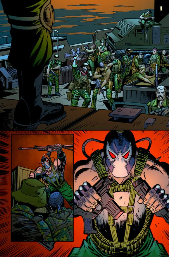 Bane on Dc Universe Online Killer Croc