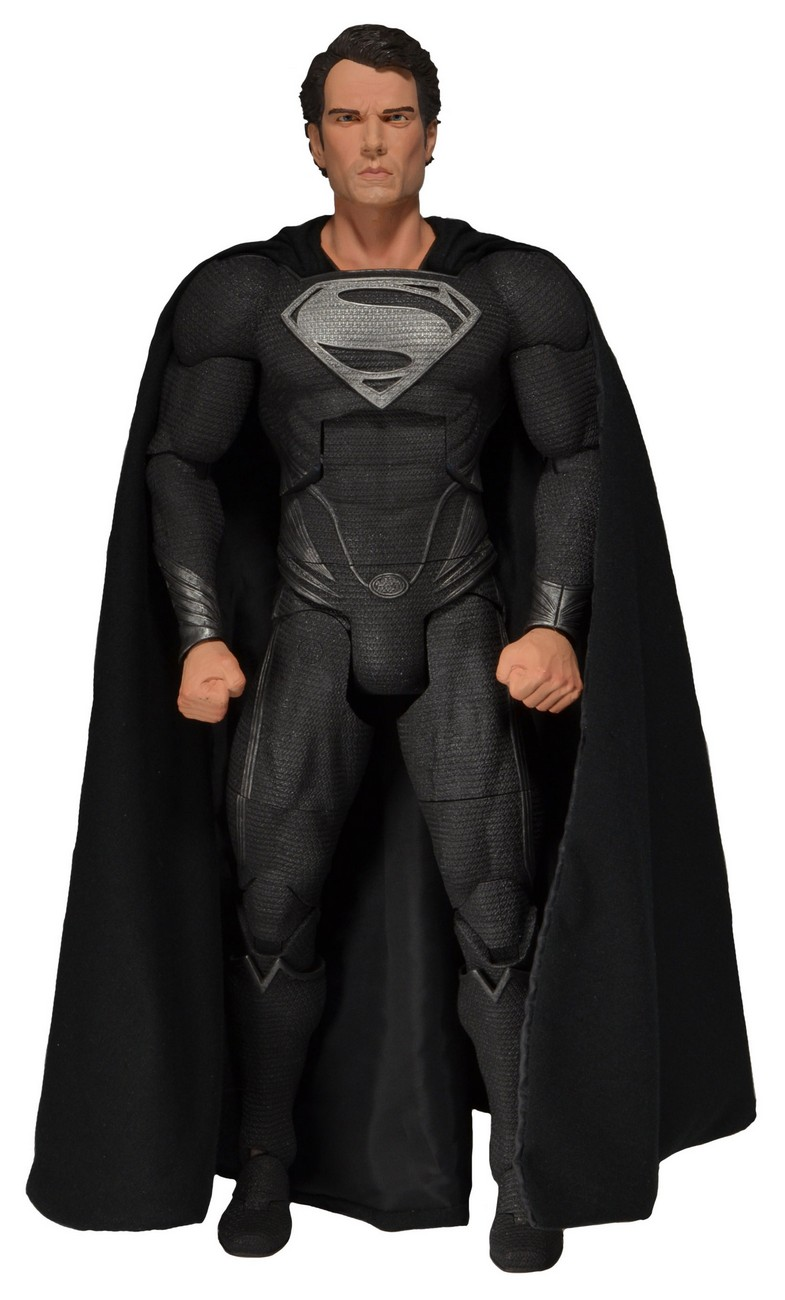 NECA Reveals Quarter Scale Man of Steel Superman ...