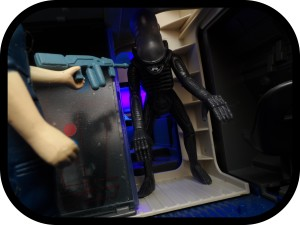 Reaction Alien 09