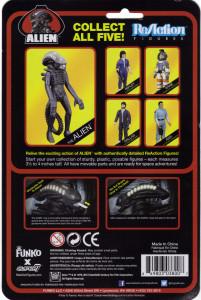Reaction Alien Cardback