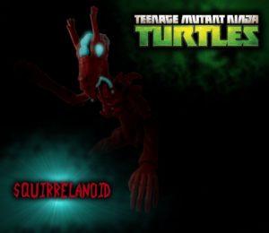 TMNT Squirrelanoid Title