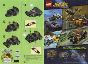 Lego The Batman Tumbler 04 Instructions