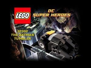 Lego The Batman Tumbler 09 Title