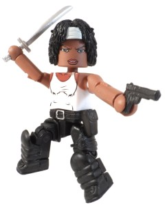 TRU WD 5 Michonne Hitchhiker 07 Action
