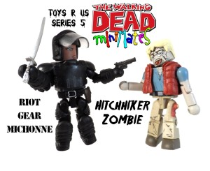 TRU WD 5 Michonne Hitchhiker 13 Title