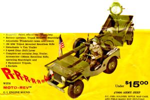1965 Five Star Jeep Set