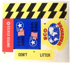 Eco Striker 05 Stickers