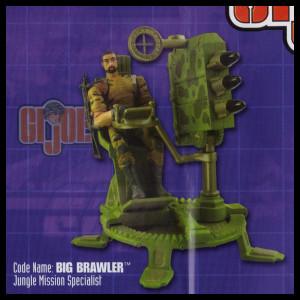 GI Joe 50th 15 Big Brawler