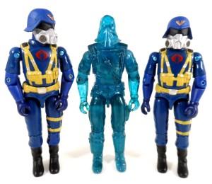GI Joe 50th 34 Gas Mask Troopers