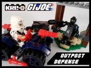 GI Joe Kreo Outpost Defense 17 Title
