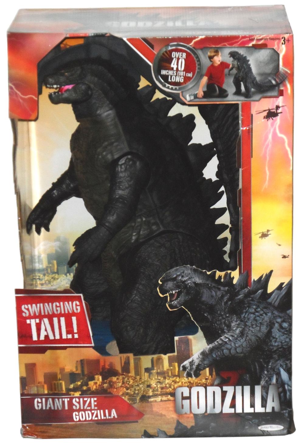 Giant Size Godzilla By Jakks Pacific Needless Essentials