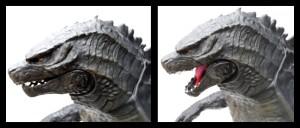 Giant Godzilla 09 Head