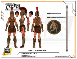 700 Contributor Amazon Warrior