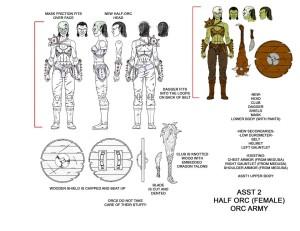 S2 Female Half Orc
