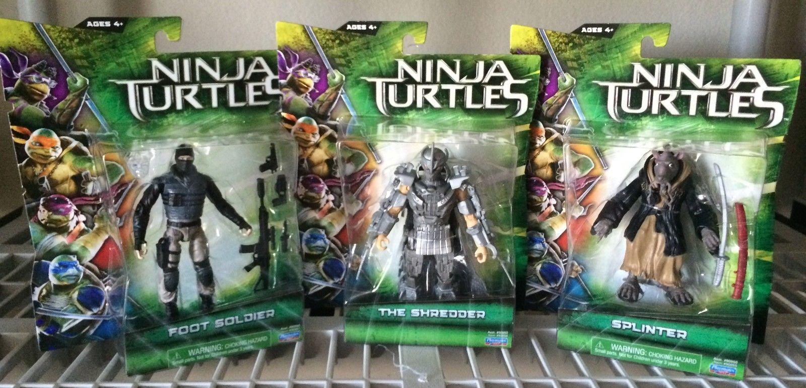 teenage mutant ninja turtles 2014 movie toys new images