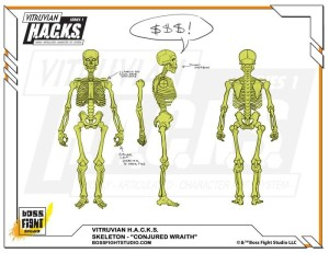 360000 Stretch Conjured Wraith Skeleton
