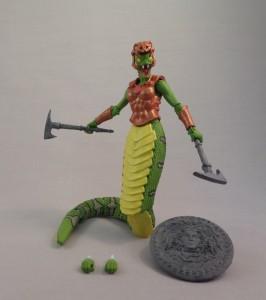 Green Gorgon Painted 01