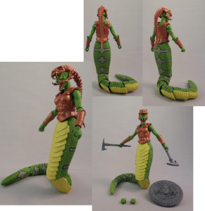 Green Gorgon Painted 02
