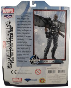 Marvel Select Falcon 02 MOC