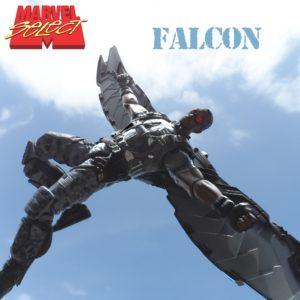 Marvel Select Falcon Title