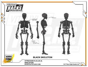 Stretch 325000 Black Skeleton