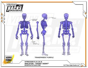 Stretch 340000 Hades Agent Skeleton
