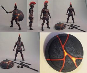 Underworld Warrior Painted
