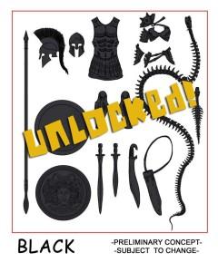 Unlocked 04 Black Acc Pack