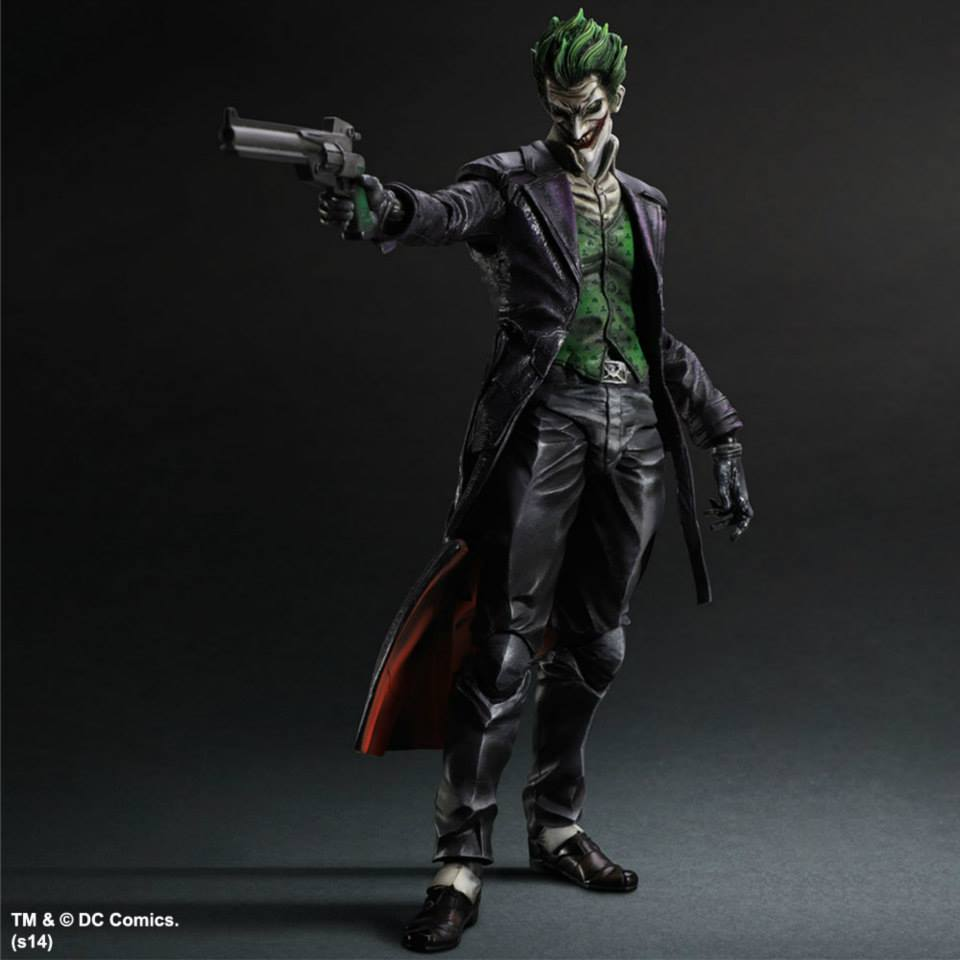 New Images of Play Arts Kai Arkham Origins Robin and Joker ...