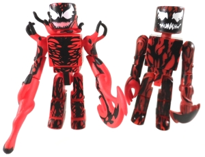 Deadly Foes Spiderman 05 Carnage Compare