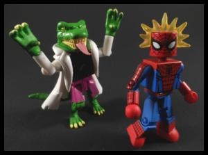 Deadly Foes Spiderman 17 Lizard Group
