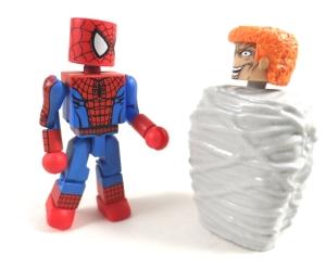 Deadly Foes Spiderman 24 Bonus Webbing
