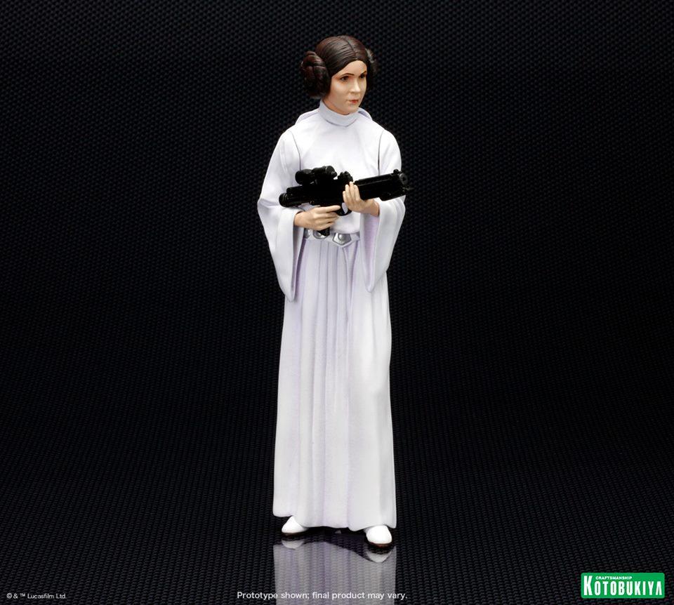 star wars luke skywalker princess leia artfx statues needless essentials onlineneedless. Black Bedroom Furniture Sets. Home Design Ideas