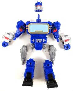 Transformers Mashers Soundwave 04 Parts