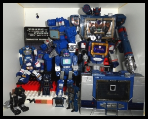 Transformers Mashers Soundwave 13 Colection
