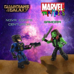 Gamora Nova Minimates 13 Title