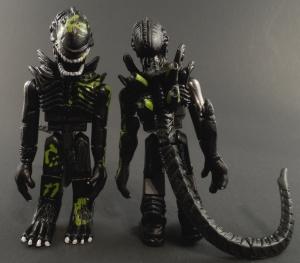 Aliens Minimates 13 Battle Damaged Alien