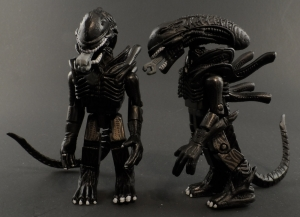 Aliens Minimates 20 Attacking Alien