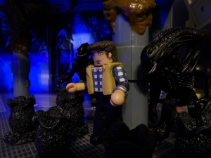 Aliens Minimates 31 Action