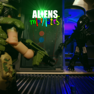 Aliens Minimates 34 Title