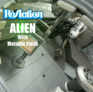 Metallic Alien 13 Title