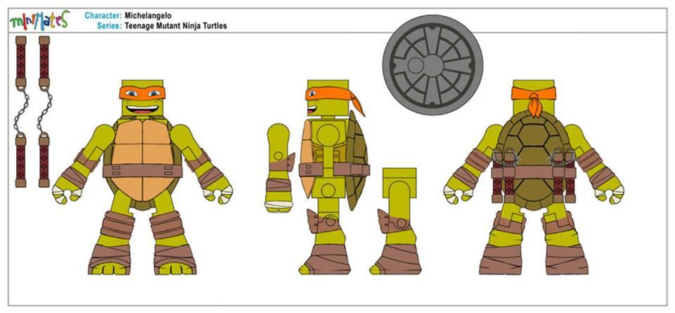 Tmnt Turtles 2014 Toy At Kmart Sub : Teenage mutant ninja turtles minimates now at kmart