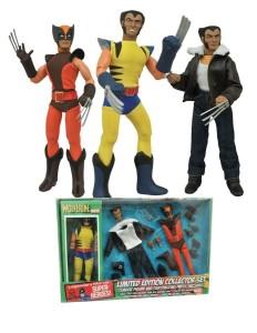Retro Wolverine Action Figure