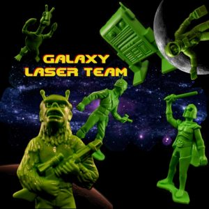 Galaxy Laser Team Giant Reissue 19 Title