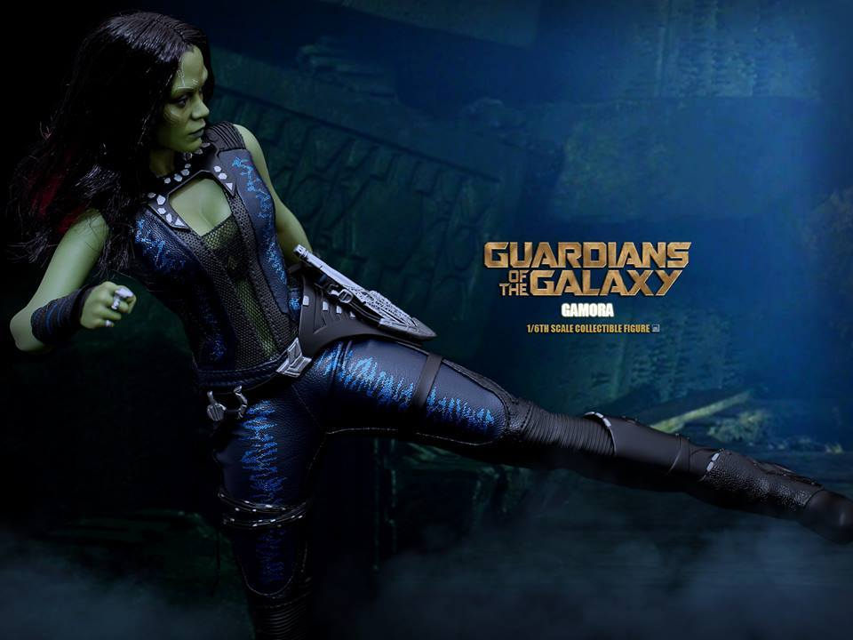 GUARDIANS OF THE GALAXY trailer promises irreverent comedy ... |Gamora Guardians Of The Galaxy Trailer