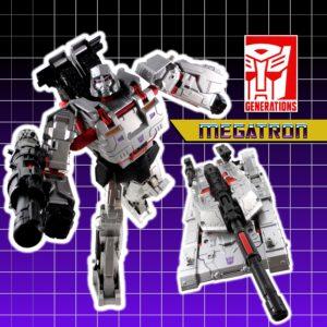 Generations Leader Megatron 23 Title