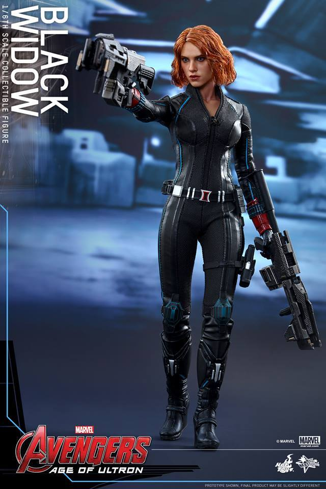 Hot Toys Age Of Ultron 1 6 Black Widow Needless