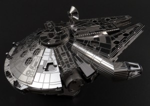 Metal Earth Millenium Falcon 05