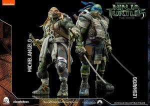 TMNT Leonardo and Michelangelo (2)