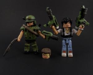 Aliens Minimates Hicks Ripley 12